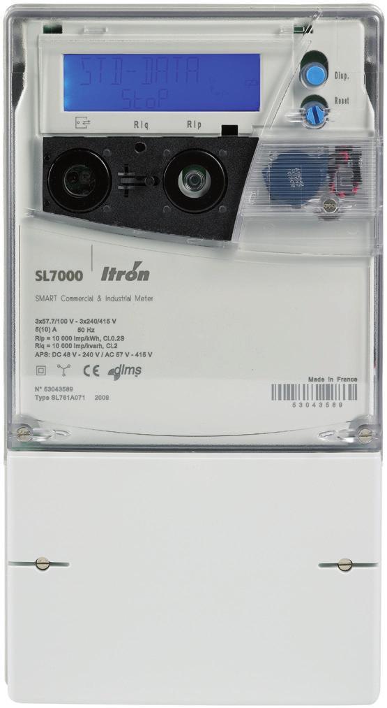contatore Itron SL7000
