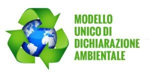 Modello unico dichiarazione ambientale