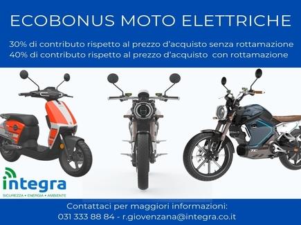 Ecobonus 2020 Moto elettriche