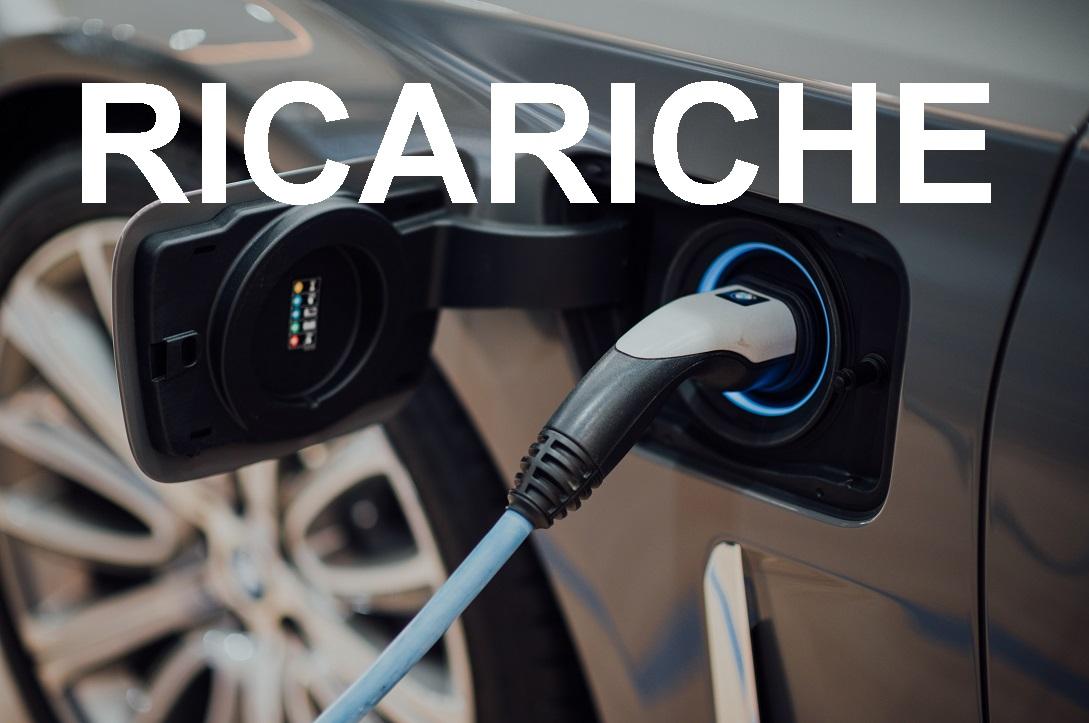 ricariche veicoli elettrici